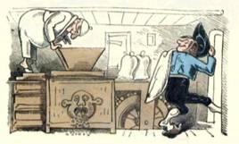 ヴィルヘルム・ブッシュの風刺画